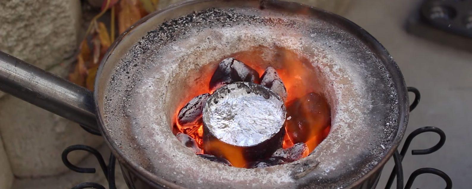 Печи для плавки цветного металла своими руками 46