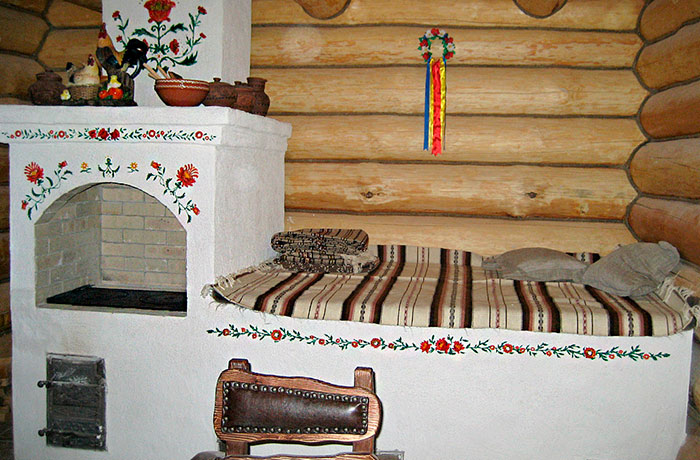 Спальное место на печи