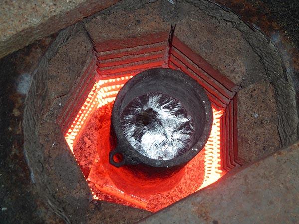 Как сделать печь для плавки а 50